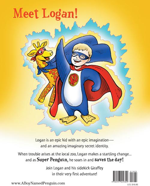 A Boy Named Penguin Back Cover