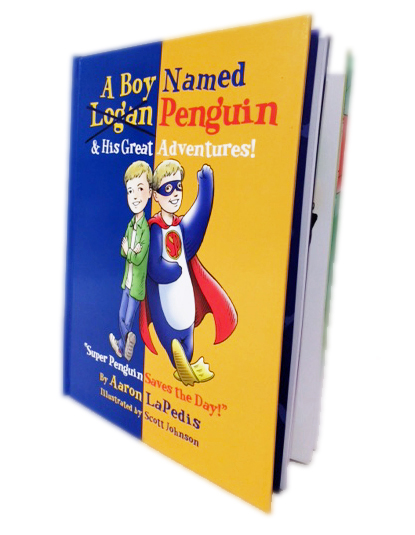 A Boy Named Penguin & His Great Adventures Book